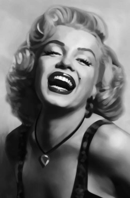 Marilyn Monroe 667 Wall Mural by Ideal Decor