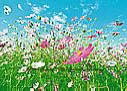 Flower Meadow wall mural