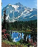 Mountain Peak 307 discount wall murals