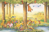 Whimsy Wall Mural 3810