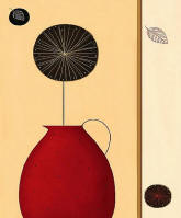 Red Pitcher Wall Mural 408