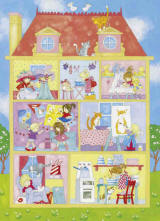 It's a Girls' World Wall Mural by Ideal decor 427