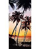Sunny Palms 529 sunset Wall Mural