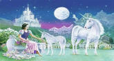 Unicorn Princess 652 Wall Mural