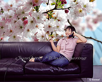 Spring Wall Mural 8-507 by Komar Roomsetting