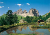 Dolomites Mountains Wall Mural 8-9017