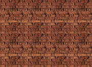 Red Brick Wall Mural 8094