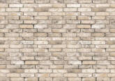 White Brick Wall Mural 8098