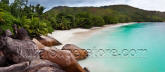 Barbados Island Beach Panoramic Wall Mural