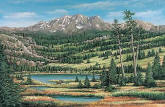 Mountain Scenic Wall Mural 259-58358