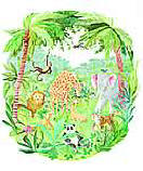 Jungle Boogie ID5541M wallpaper wall mural
