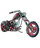 American Chopper wall mural
