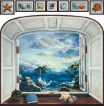 Bay Window 20270 wall mural