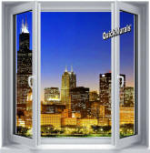 Skyline Canvas Peel & Stick Wall Mural