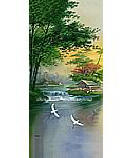 Falling Brook PR1217 Waterfall Wall Murals