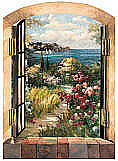 Garden by the Sea Mural Enlargement