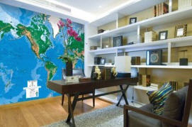 World map wall mural c810 by environmental graphics as a major wallpaper retailer our purchasing power allows us to pass along the savings to you gumiabroncs Choice Image
