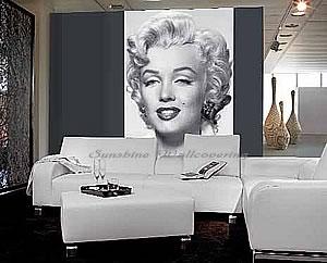 marilyn monroe room wallpaper - photo #24