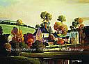 Painterly Landscape york wallpaper wall mural