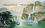 Secret Falls PR1816 wall mural
