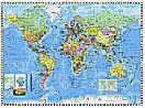 World Map PR94055 Large Large Wall Maps