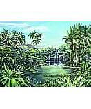Tropical Lagoon wall murals