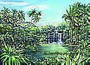 Tropical Lagoon york wallpaper wall mural
