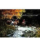 Traditional Hunt Scene wall murals