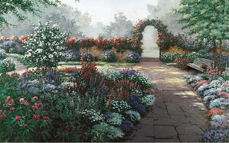 Serenity Wall Mural C821 by Environmental Graphics