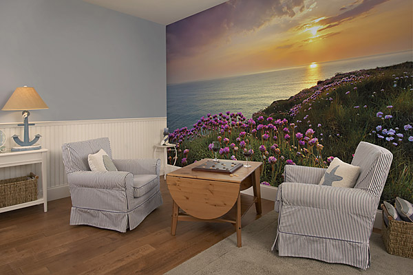 Land's End 8-901 Wall Mural by Komar roomsetting