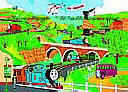 Thomas The Engine york wallpaper wall mural