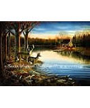 Tranquil Evening wall murals