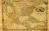 Map of 1841 UMB91049 Wall Mural