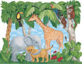 Baby Animals 252-72001 Wall Mural