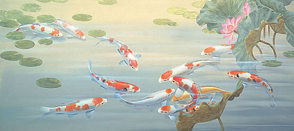 Peaceful Pond Wall Mural
