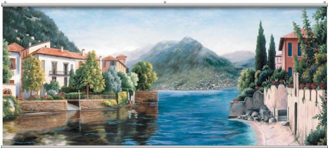 Bay view wall mural for Bay view wall mural