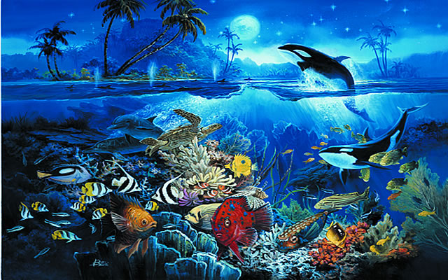 tropical fish wall mural 3934 undersea coral reef photo wall paper will turn your wall