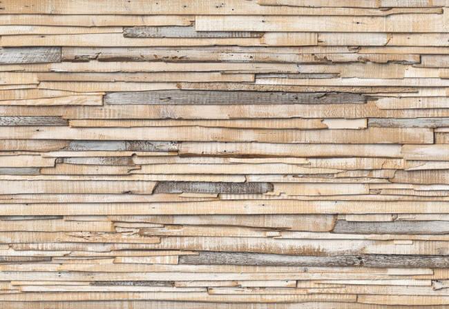 Whitewashed Wood Wall Mural 8 920