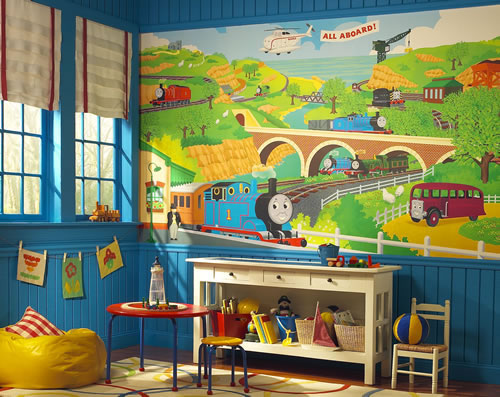 Thomas The Tank Engine YH1418M wall mural