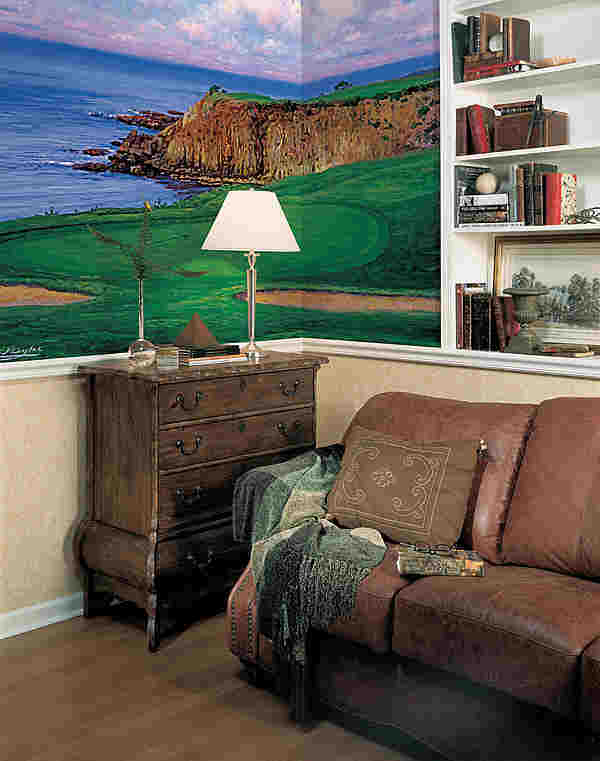 Golf Scene 1 Beach wall mural 259 74041