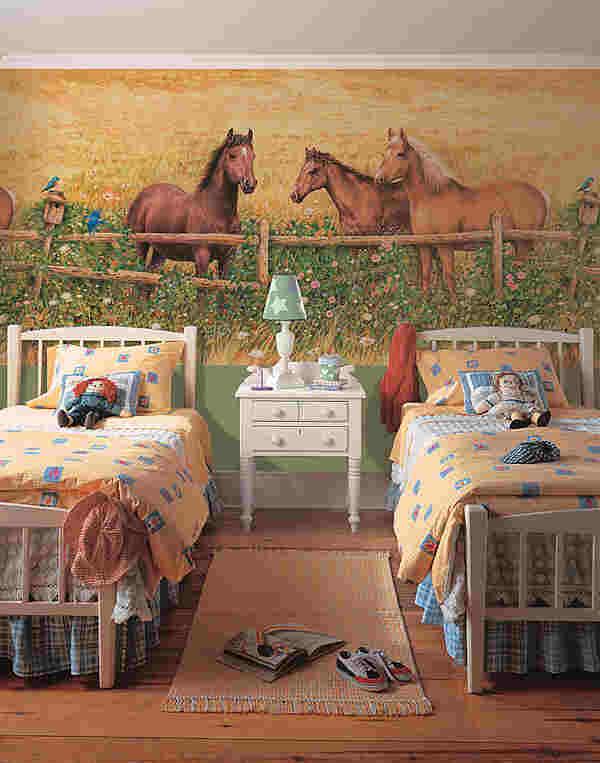 pics photos three horses wall mural ideas horse wall popular horse wall murals buy cheap horse wall murals lots