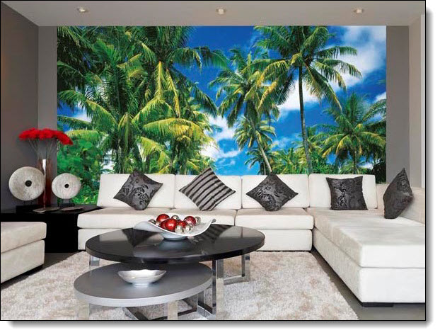 Isle In The Sun Wall Mural 273 by Ideal Decor