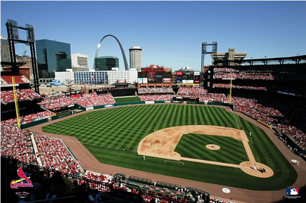 St. Louis Cardinals/Busch Stadium Wall Mural Part 40