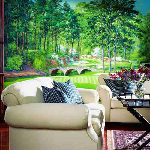 Golfers paradise mural ur2055m for Augusta national wall mural