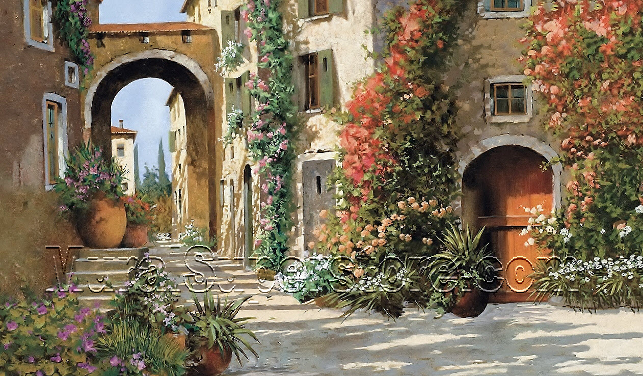 Breezeway wall mural mp4870m tuscan breezeway wall mural mp4870m amipublicfo Image collections