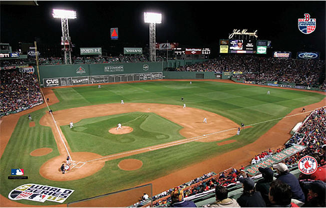 Boston Red Sox Fenway Park 2007 World Series Game 1