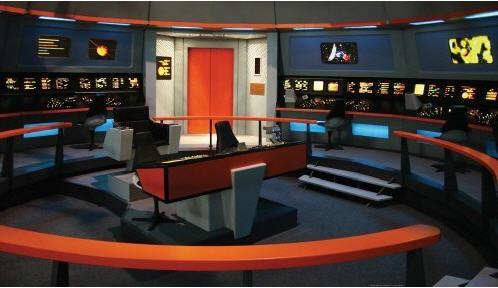Star Trek Enterprise Bridge Wall Mural Jl1171m