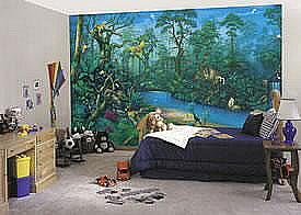 jungle dreams wall mural decorating theme bedrooms maries manor jungle baby