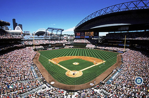 Seattle Mariners Safeco Field Mural