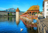 Lucerne Switzerland Wall Mural DM157 by Ideal Decor